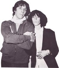 Fred Sonic Smith et Patti Smith