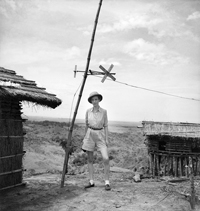 Au Bas Congo, en 1942.